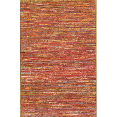 Pasargad Sari Silk Red/Yellow Rug