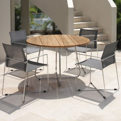 Mamagreen Gemmy 5 Piece Dining Table