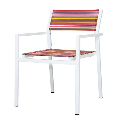 Mamagreen Stripe Dining Arm Chair