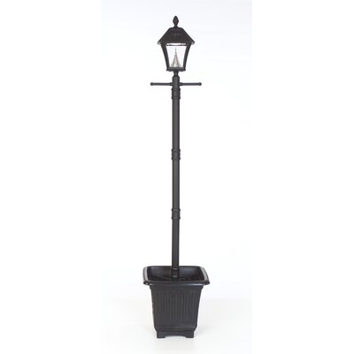 GamaSonic Baytown 6 Light Solar Lantern Post