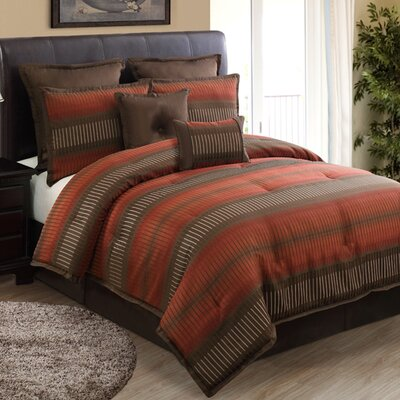 Home Fashions International Russell 8 Piece Comforter Set