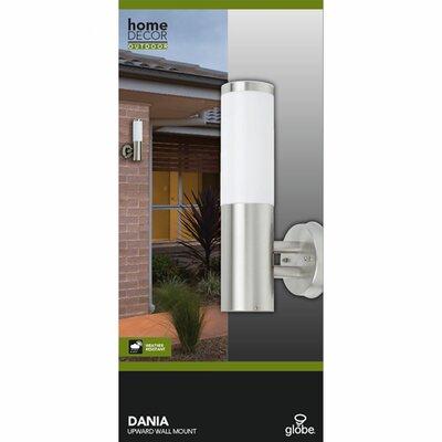 Globe Electric Company Dania 1 Light Outdoor Wall Lantern