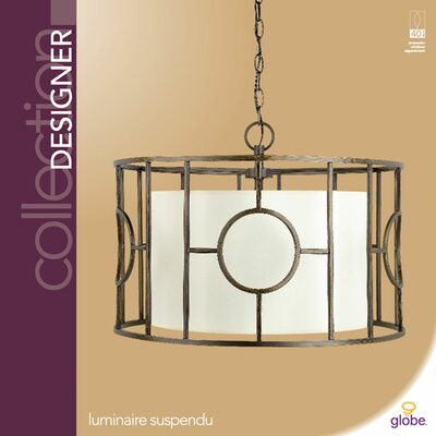 Globe Electric Company Designer 3 Light Pendant