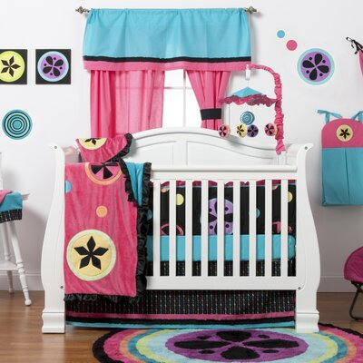Magical Michayla 10 Piece Crib Bedding Set