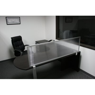 "OBEX 18"" Desk Mounted Privacy Panel"