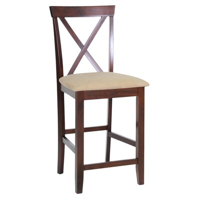 "Wholesale Interiors Baxton Studio Natalie Modern 25.13"" Bar Stool"
