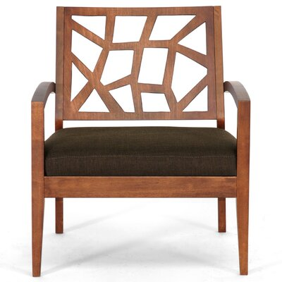 Wholesale Interiors Baxton Studio Jennifer Twill Lounge Chair