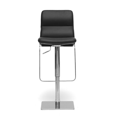 "Wholesale Interiors Baxton Studio Helsinki Modern 21.5"" Adjustable Swivel Bar Stool"