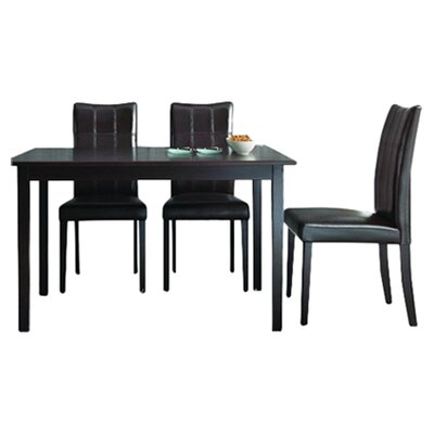 Wholesale Interiors Baxton Studio Eugene 5 Piece Dining Set