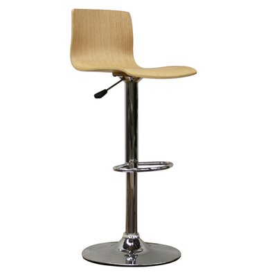 "Wholesale Interiors Milka 22"" Adjustable Swivel Bar Stool"