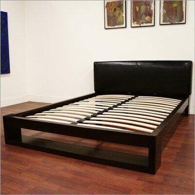 Wholesale Interiors Baxton Studio Felton Queen Platform Bed