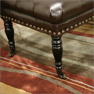 Wholesale Interiors Baxton Studio Lexington Bonded Leather Bench