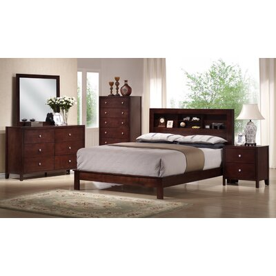 Wholesale Interiors Baxton Studio 5 Piece Panel Bedroom Collection