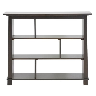Wholesale Interiors Baxton Studio Havana Short Modern Bookcase in Brown