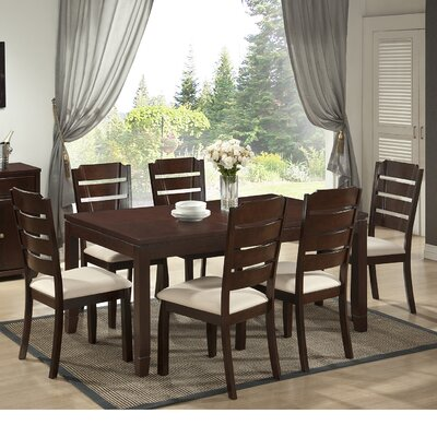Wholesale Interiors Baxton Studio Victoria 7 Piece Dining Set