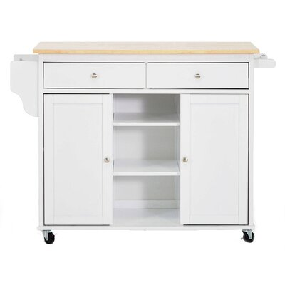 Wholesale Interiors Baxton Studio Meryland Modern Kitchen Cart