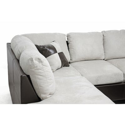 Wholesale Interiors Baxton Studio Mancini Left Sectional