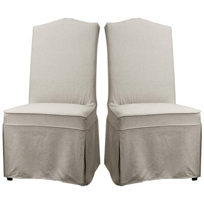 Baxton Studio Coralie Parsons Chair (Set of 2)