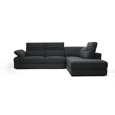 Wholesale Interiors Baxton Studio Liesel Modern Sectional Sofa