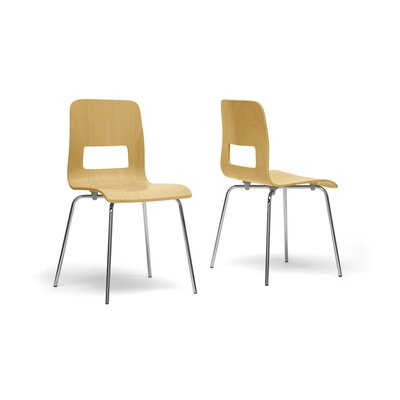 Wholesale Interiors Baxton Studio Greta Side Chair (Set of 2)