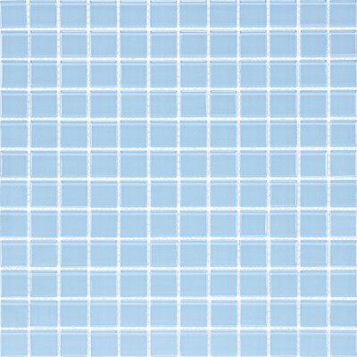 Cristezza Select Glass Tile in Powder Room Blue