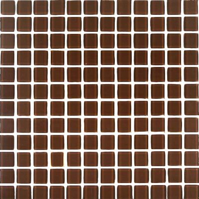 Cristezza Select Glass Tile in Milk Chocolate