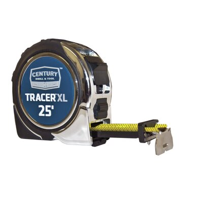 Century Drill and Tool Tracer Tape Measure