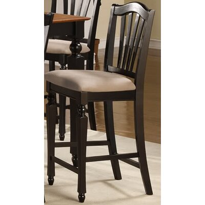 East West Furniture Chelsea Bar Stool with Cushion