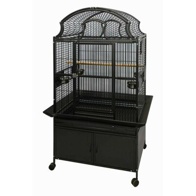 A&E Cage Co. Large Fan Top Bird Cage