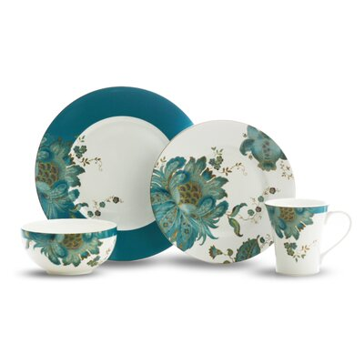 222 fifth eliza teal 16 piece dinnerware set reviews for 222 fifth dinnerware