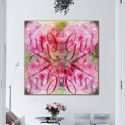 "Oliver Gal ""Efflorescent Bomb"" Canvas Wall Art"