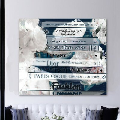 Oliver Gal Romantica Night Canvas Wall Art