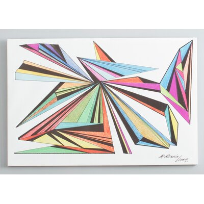 "Oliver Gal ""Architecta"" Canvas Wall Art"