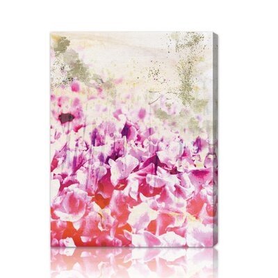 Oliver Gal ''Gold Spring'' Canvas Wall Art