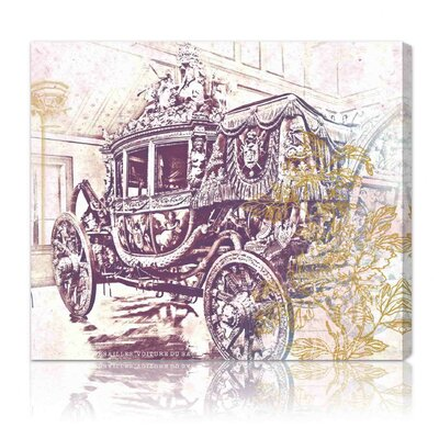 Oliver Gal Charles X Carriage Graphic Art on Canvas