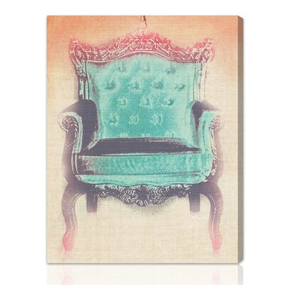 The Throne Graphic Art on Canvas