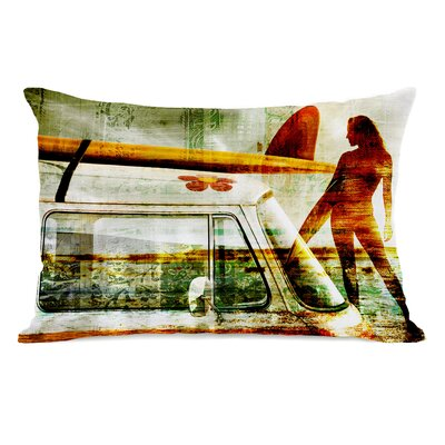 Surfer Gal Pillow