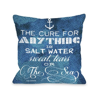 The Cure Quote Pillow