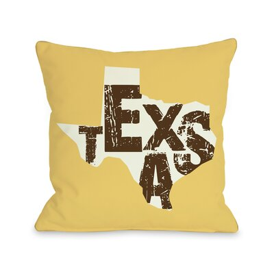 Texas State Silo Pillow
