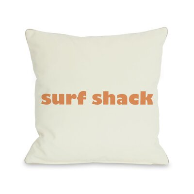 Surfs Shack Pillow