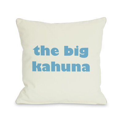 The Big Kahuna Pillow