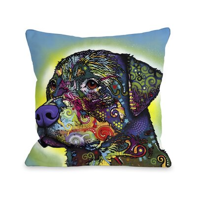 Doggy D�cor The Rottweiler Pillow