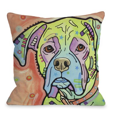Doggy D�cor The Boxer Pillow