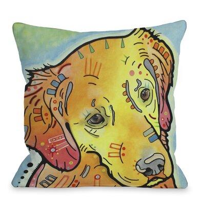 Doggy D�cor The Goldenish Retriever Pillow