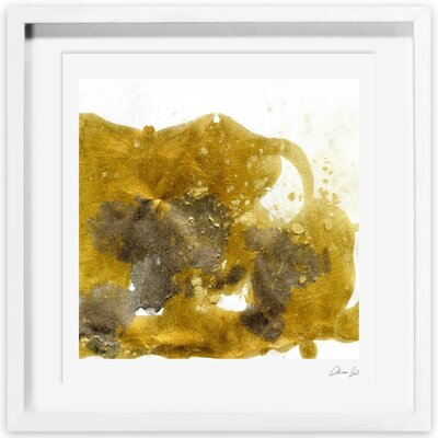 Gold Dust Framed Graphic Art