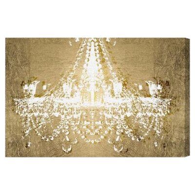 Oliver Gal Dramatic Entrance Night Graphic Art on Canvas