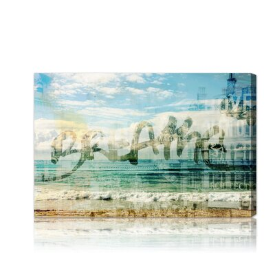Oliver Gal ''Breathe'' Canvas Art Print