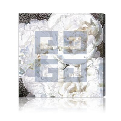 "Oliver Gal ""Dove White"" Canvas Wall Art"