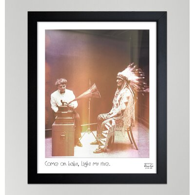 Oliver Gal ''Light My Fire'' Frame Photographic Print