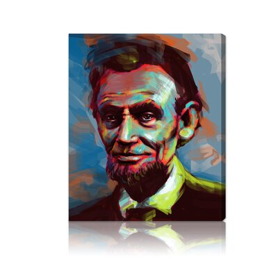 Oliver Gal ''Lincoln'' Canvas Art Print